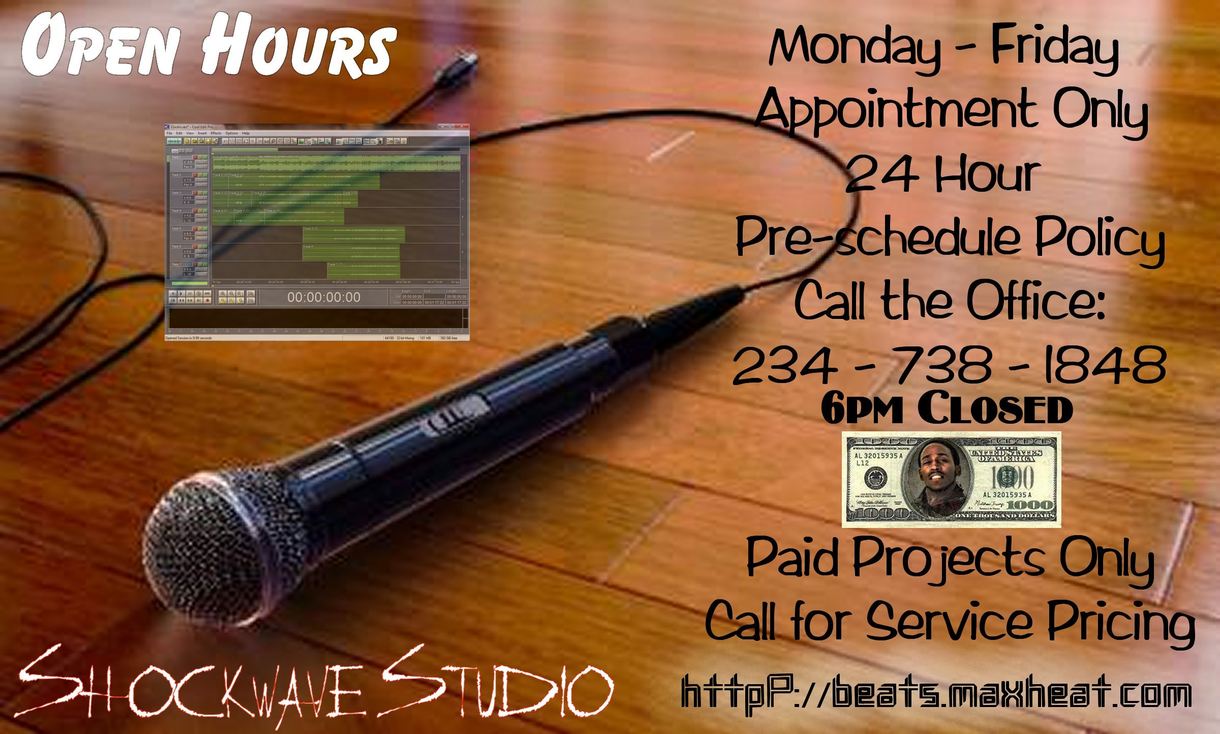 Studio Hours and Policy